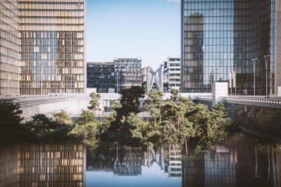 Reflets Bibliothèque François Mitterrand - Jean-Nicolas Lehec Photographie