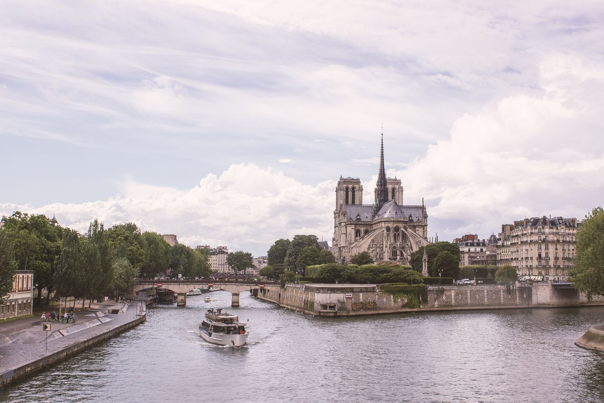 Notre Dame de Paris depuis le Pont de la Tournelle