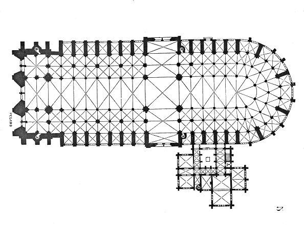 Plan de Notre-Dame de Paris, Viollet-le-Duc