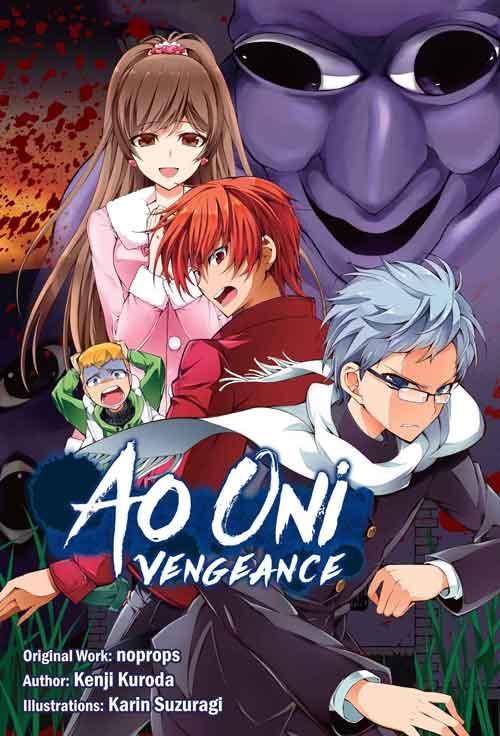 Ao Oni Volume 2 cover