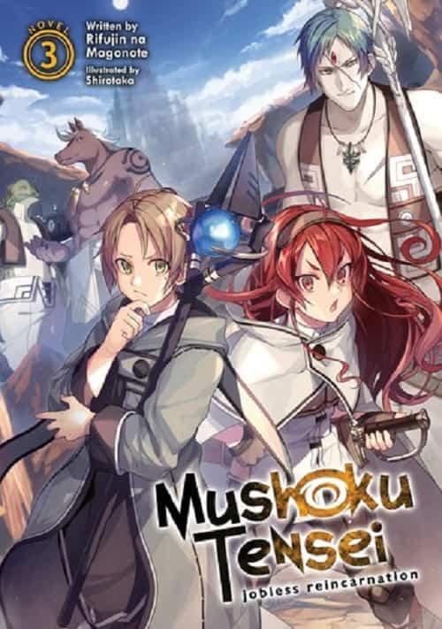 Mushoku Tensei volume 3 cover