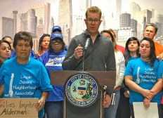 Chicago Teachers Union press conference
