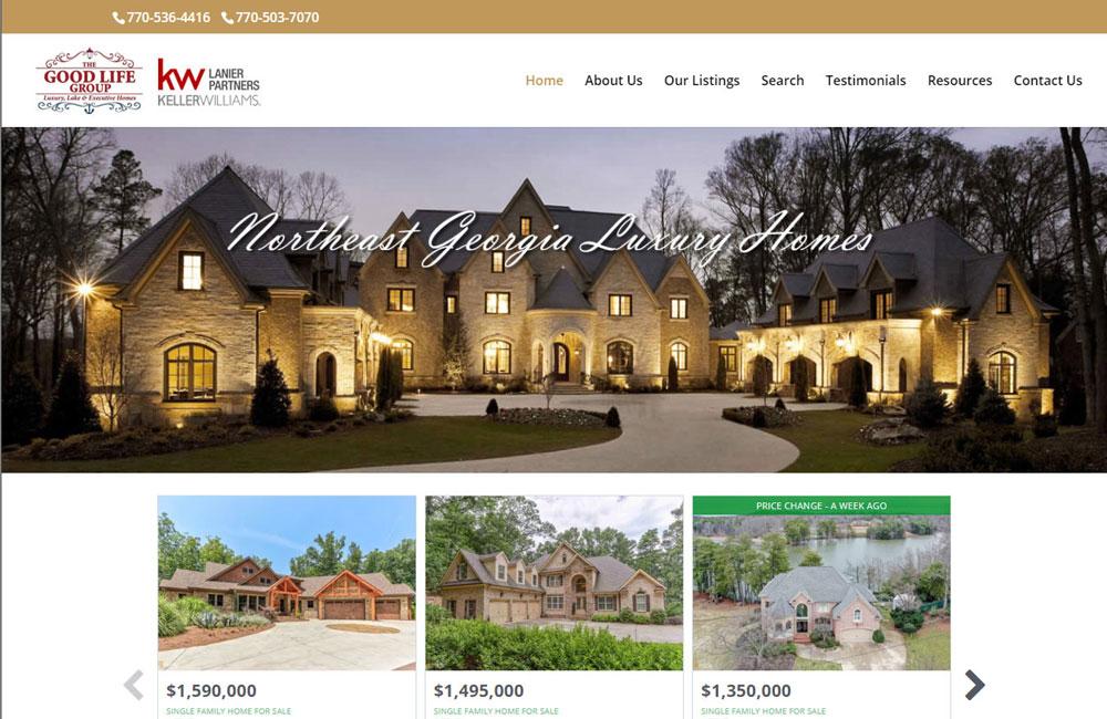 Website Design - Northeast GA Luxury Homes
