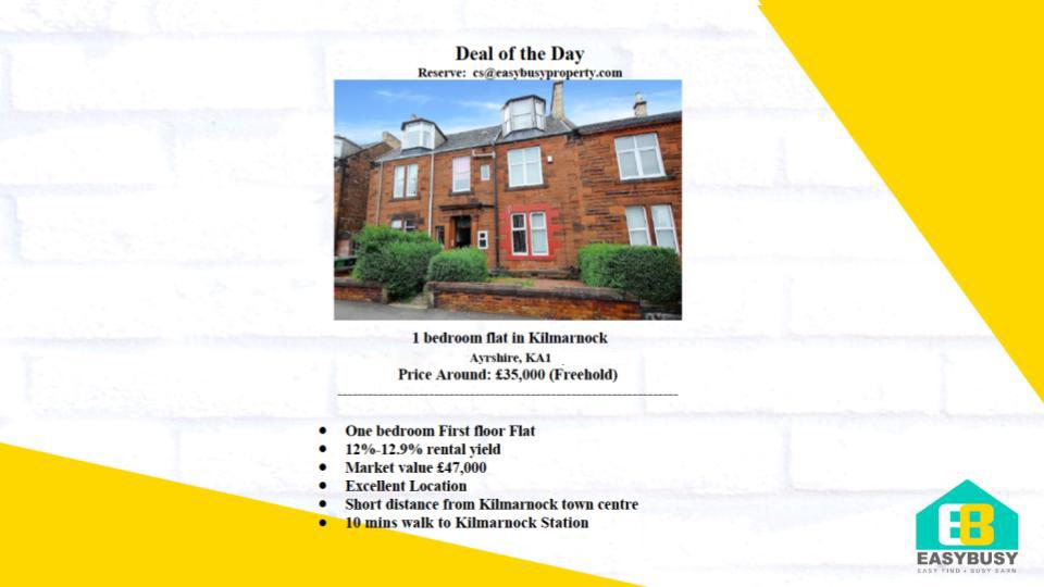 20200801 | Transaction Record of UK Property Investment | JiaYu