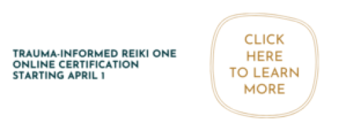 reiki one trauma informed certification
