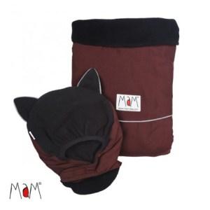 MAM Deluxe hordozós takaró Barna-fekete