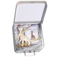 Sophie zsiráf és törlőkendő és egy szuper bőrönd hozzá