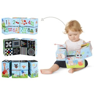 Sophie varázslatos textil kocka puzzle