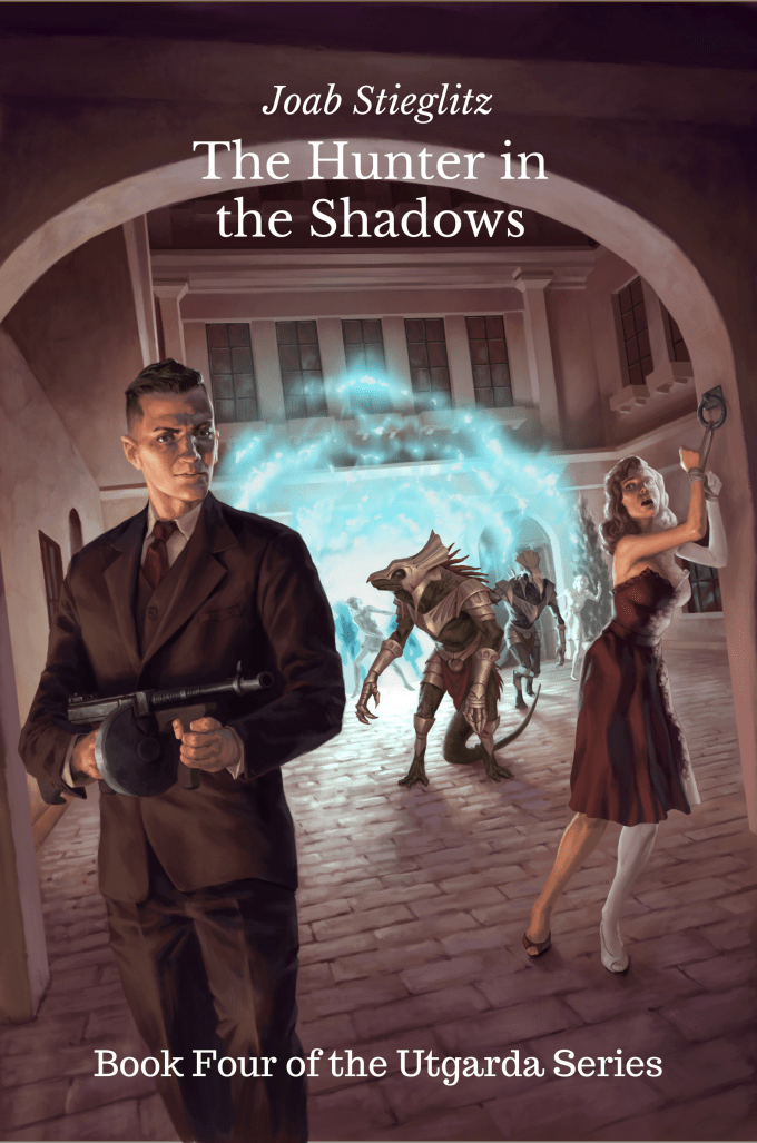 The Hunter in the Shadows Front Cover