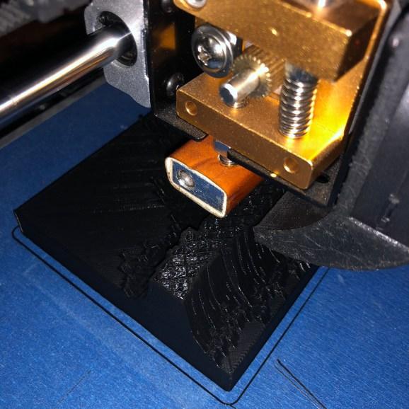 3d printing… Step three