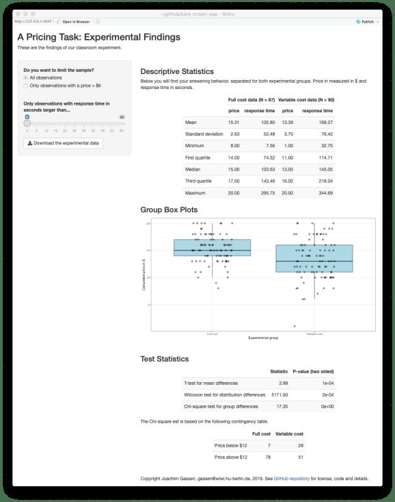 Results App