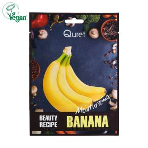 Quret Beauty Recipe Banana Sheet Mask