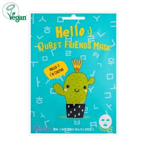 Hello :) Quret Friends Cactus Mask