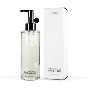 2NDESIGN First Cleansing Oil Pure & Fresh Black 200ml