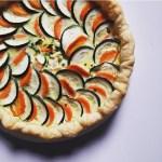 Tarte carottes et courgettes
