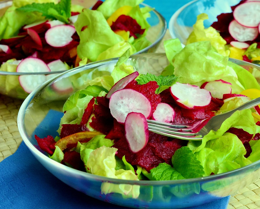 Salade composée (base légumes)