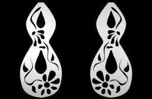 CAD Pattern for Earrings by Joana Miranda