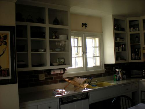 Kitchen before remodel project