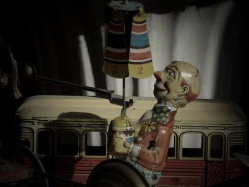 Photo of antique toys taken by Joana Miranda