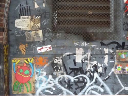 Photo of creepy-crawly graffiti in Brooklyn, taken by Joana Miranda