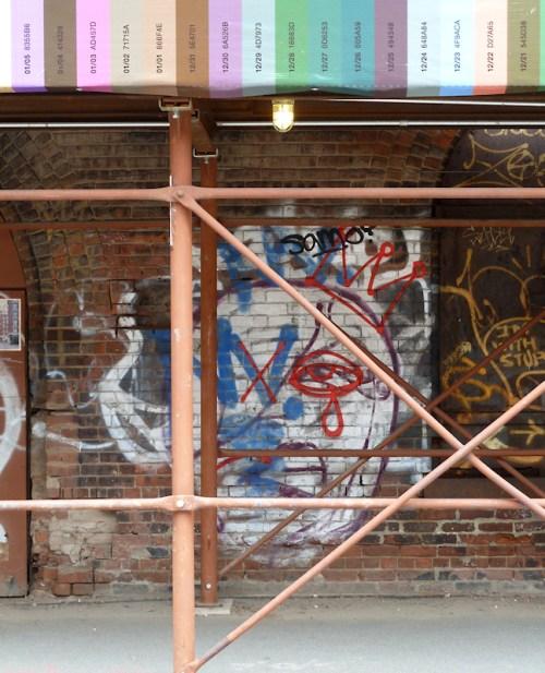 "Photo of ""tragic"" graffiti seen on wall in Brooklyn, taken by Joana Miranda"