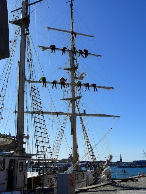 Copenhagen mast workers