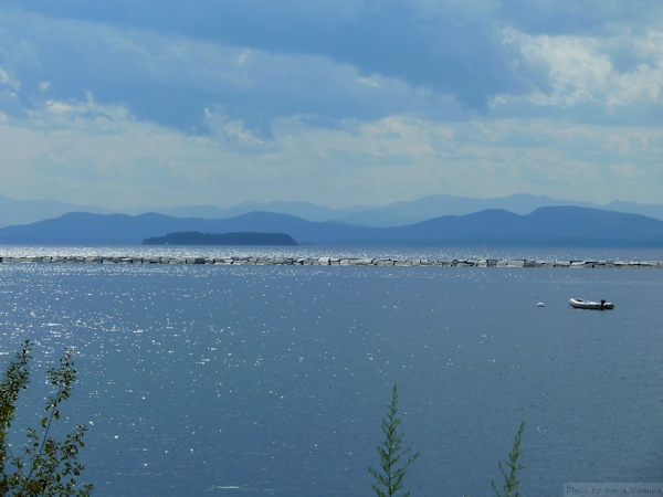 Photo of Lake Champlain taken by Joana Miranda