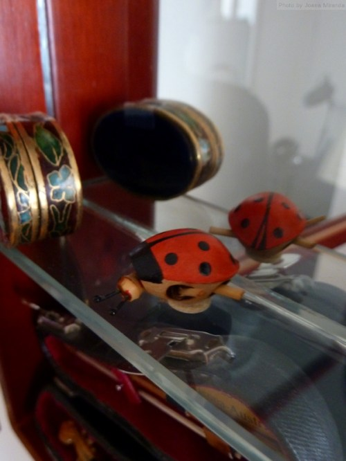 lady bug miniature toy