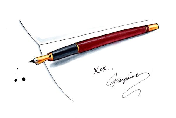 pen and paper xox josephine