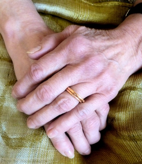 Ma's hands
