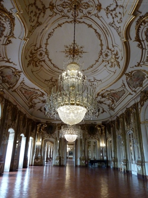 Ballroom at Palacio de Queluz