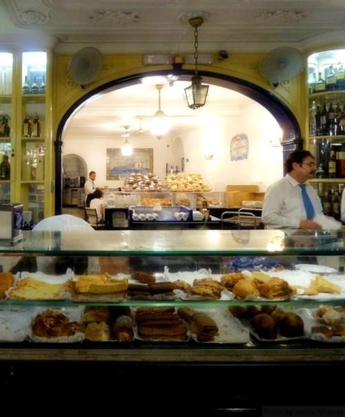 inside the Fabrica dos Pasteis de Belem