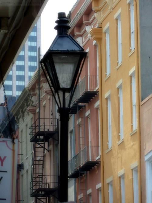 Lantern against pastels