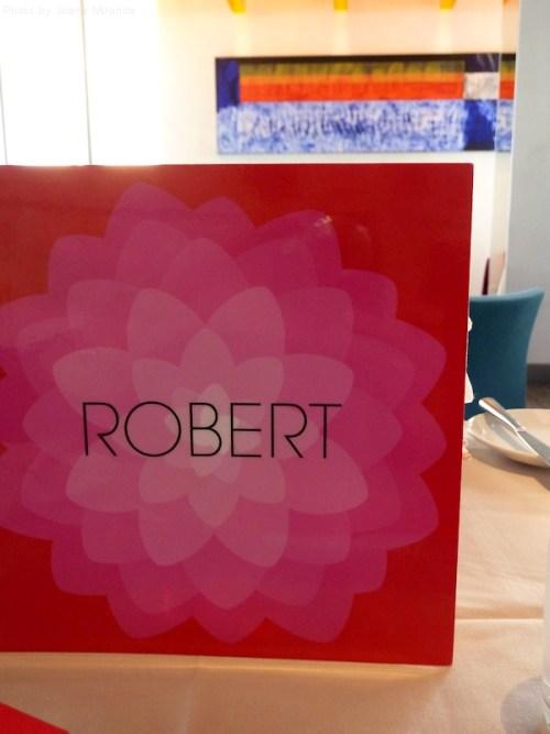 Robert wine menu
