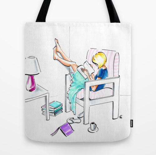 The Learned One tote