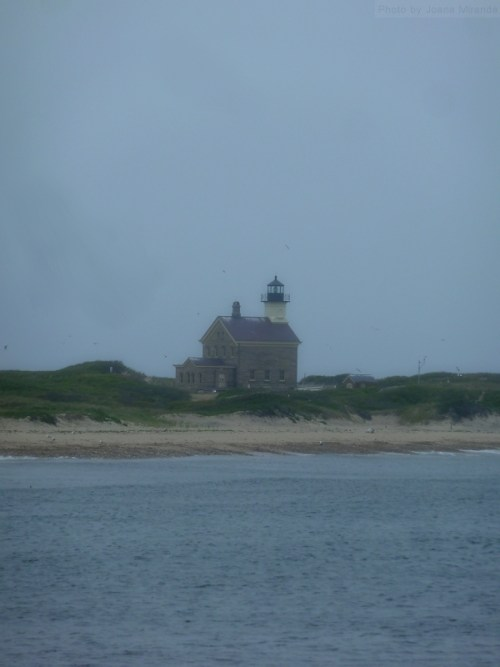 lighthouse on north point of Block Island