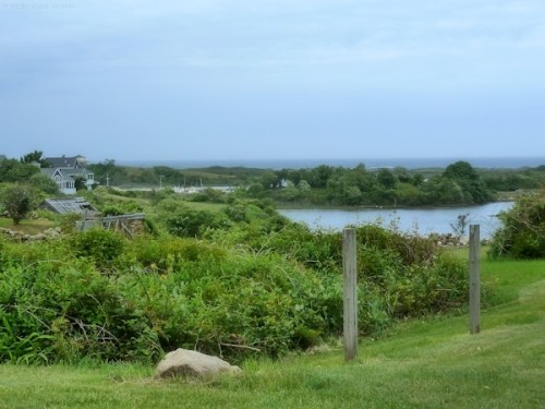 view of salt pond on Block Island