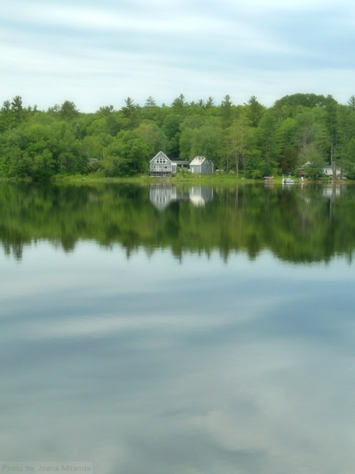 across Goose Pond