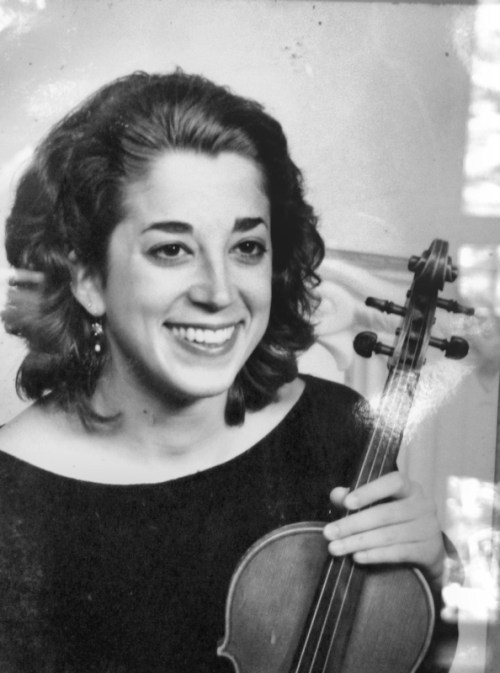 Old black and white publicity photo of Joana