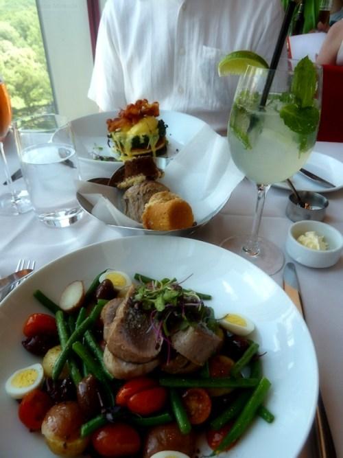 Nicoise Salad at Robert Restaurant