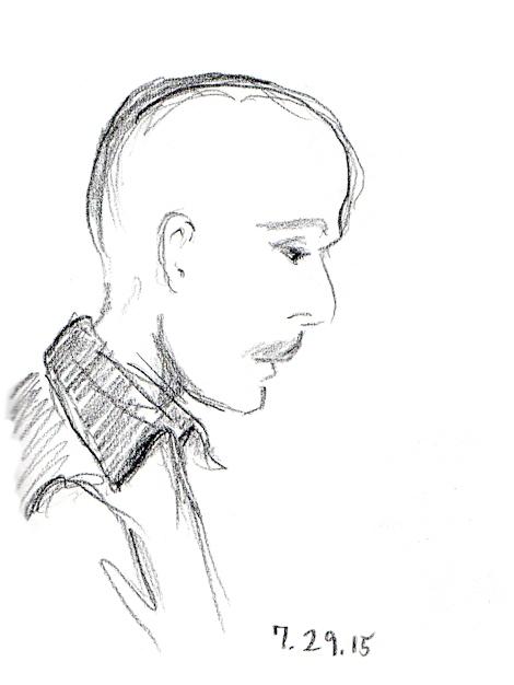 Sketch of John Moses