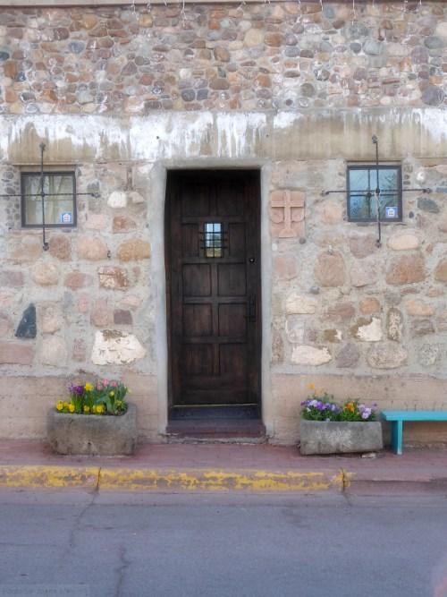 Santa Fe stone house
