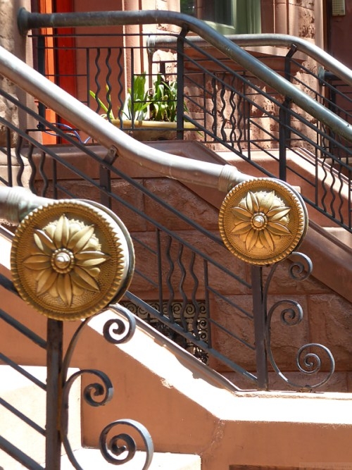 Medallions on Upper West Side railings
