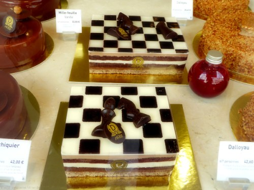 Checkerboard tarte