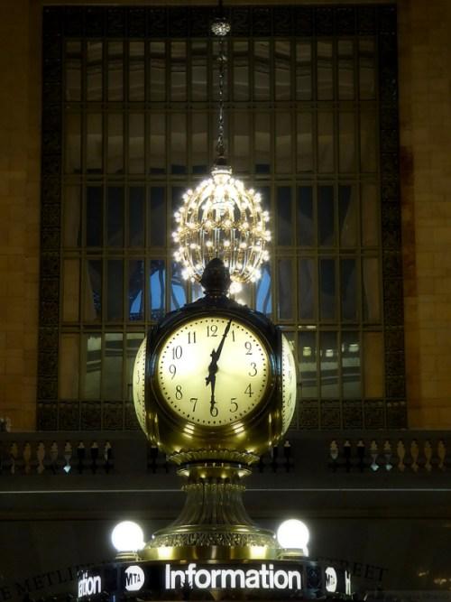 Information kiosk at Grand Central Station