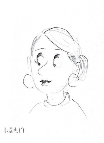 quick-cartoon-sketch-of-woman-with-hoop-earrings