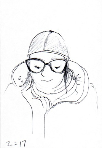 girl-with-watch-cap-and-big-glasses