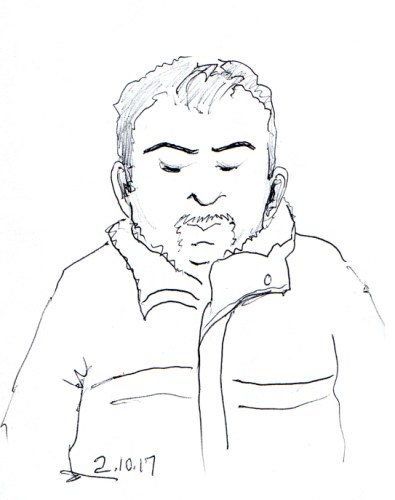 man-with-goatee-sketch