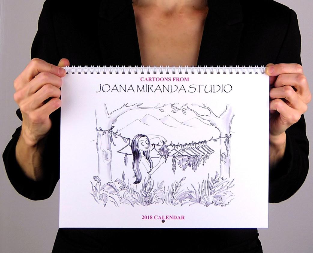 Photo of 2018 Cartoon Calendar by Joana Miranda
