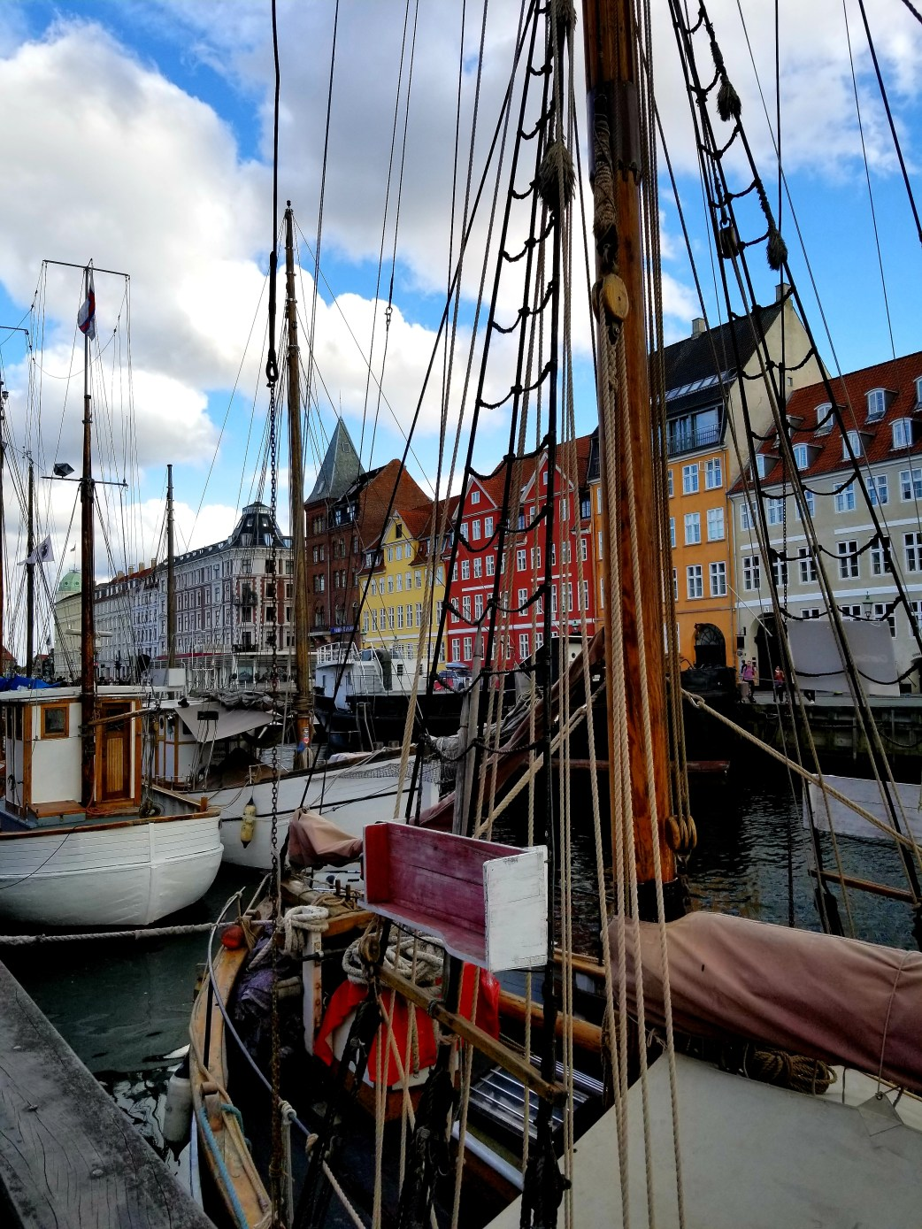 Picturesque photo of Nyhavn, Copenhagen